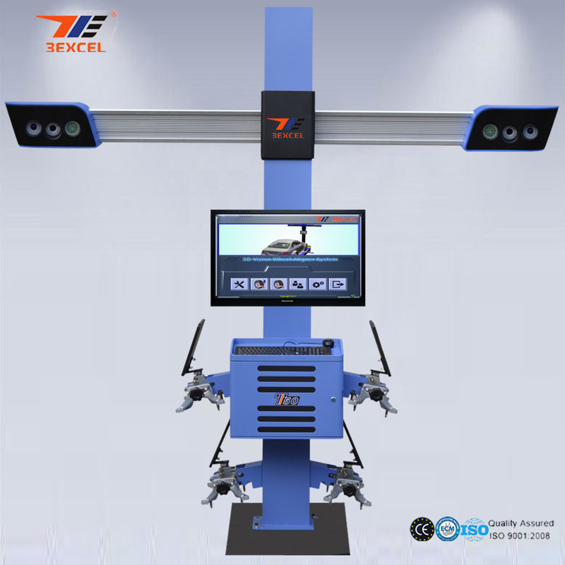 Mobile Truck Wheel AutoWireless Alignment Equipment  Wheel Balancing Professional