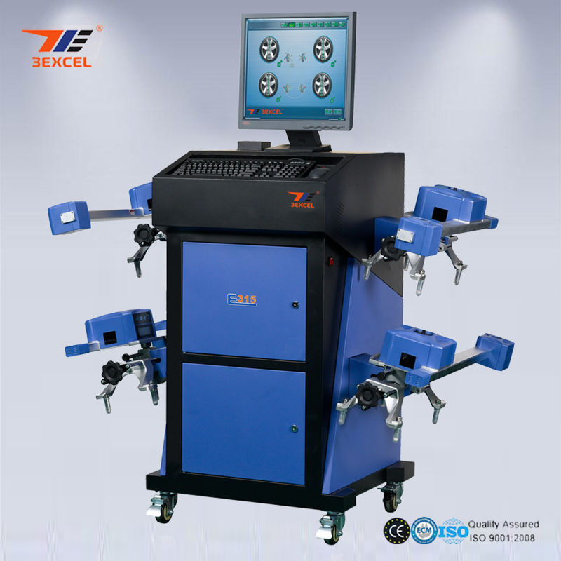 Intelligent Wheel Aligner With 8 CCD Sensors 11''-24'' Wheel rim
