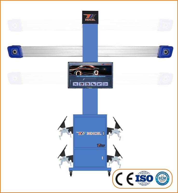 Movable Digital 3D Wheel Aligner With Auto-Tracking  Camera Beam T288