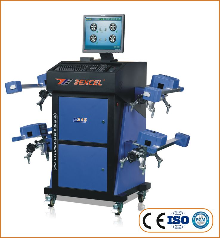 Wireless Computerized Portable Wheel Alignment Machine